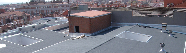 empresa de impermeabilización de cubiertas y reparacion de goteras