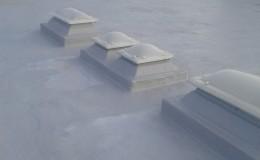 Cubiertas con fibra de vidrio y resinas -13
