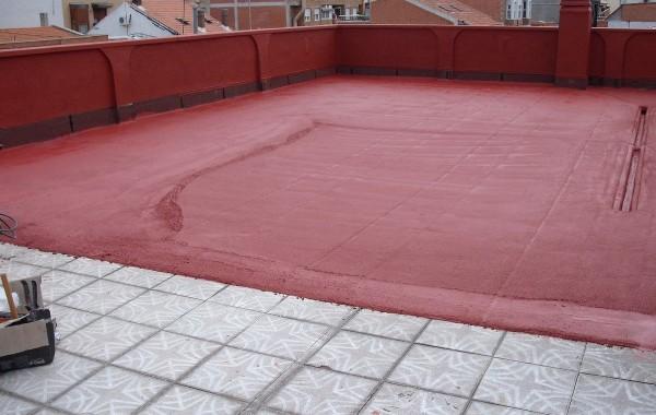 Cubiertas con pavimento Slurry